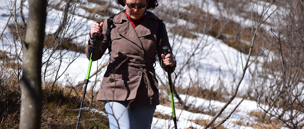 Hubnutí s Nordic Walking
