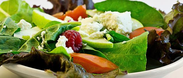 Správný jídelníček nemusí být jen zelenina