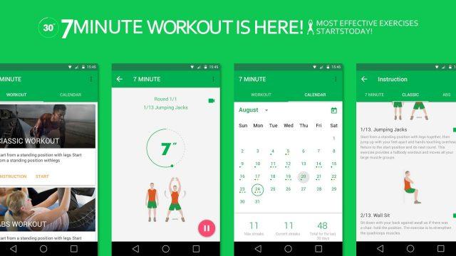 Aplikace pro cvičení doma