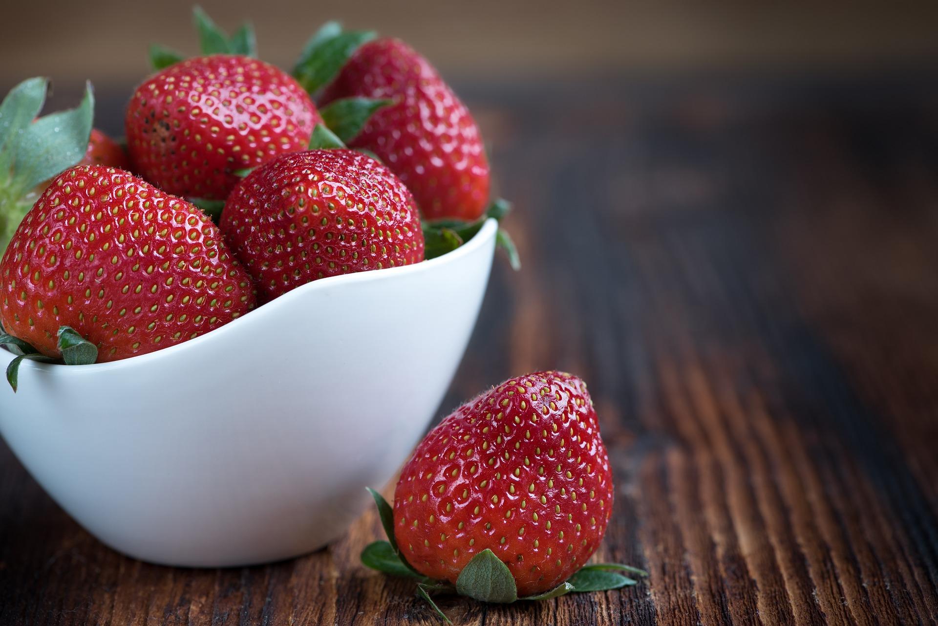 Zdravé recepty s jahodami